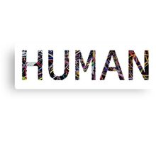 HUMAN Computer Wires Canvas Print