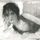 loose and fast with watersoluble graphite by djones
