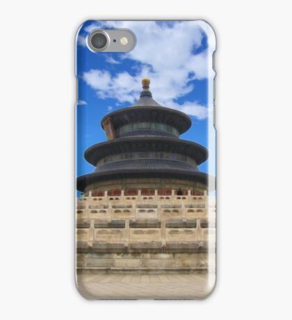 Temple of Heaven, Beijing, China iPhone Case/Skin