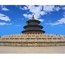 Temple of Heaven, Beijing, China Photographic Print