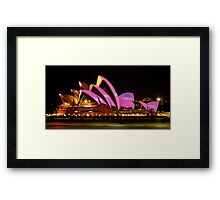 Vivid Sydney #1 - Sydney Opera House - The HDR Experience Framed Print