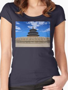 Temple of Heaven, Beijing, China Women's Fitted Scoop T-Shirt