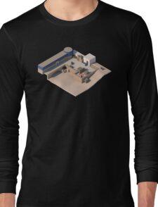 de_dust2 A Site CSGO Long Sleeve T-Shirt
