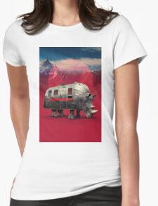 Rhino Van Womens Fitted T-Shirt