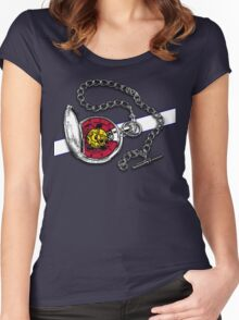 Time Stops in Colorado... Women's Fitted Scoop T-Shirt