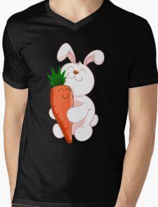 BUNNY LOVE! Mens V-Neck T-Shirt