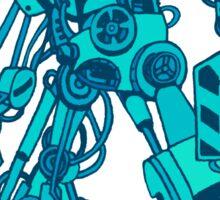 Robot Sketch Sticker