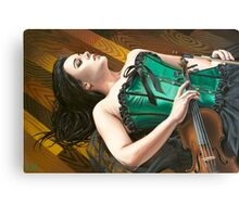 The Fiddler on the Floor Canvas Print