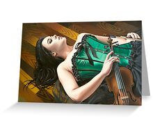 The Fiddler on the Floor Greeting Card