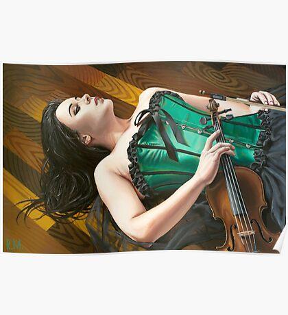 The Fiddler on the Floor Poster