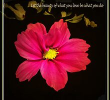 Let the beauty of what you love be what you do. - Rumi  by Nick  Kenrick Photography
