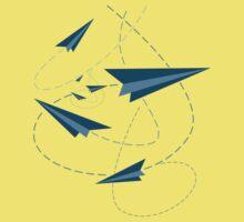 Paper Darts / Planes Kids Clothes