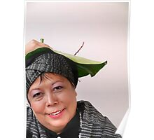 (606) Anything can become a hat! Poster