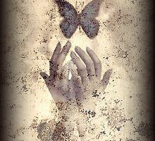 Nostalgic Butterfly Blues by Vanessa Barklay