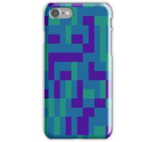 Lo Res Blu Noise iPhone Case/Skin