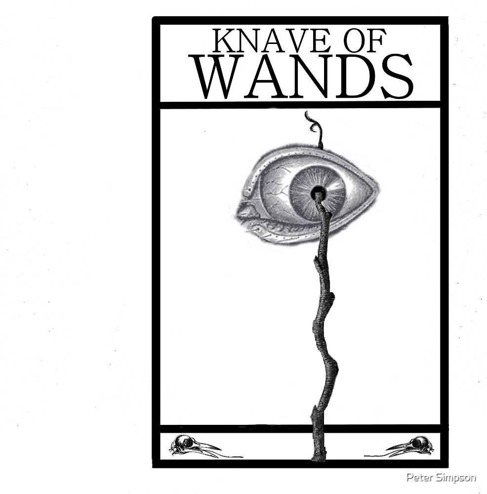 Knave of Wands by Peter Simpson