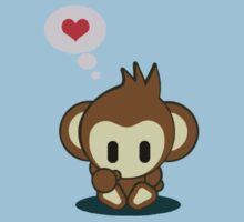 I heart Monkey by fritolayz