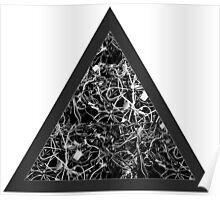 Triangle of Computer Wires Poster