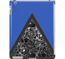 Triangle of Computer Wires iPad Case/Skin