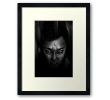 Fight Fire With Fire Framed Print