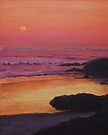 Yachats Sunset by Michael Beckett