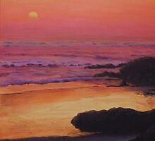 Yachats Sunset by Michael Beckett