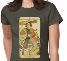the UKULELIST Womens Fitted T-Shirt