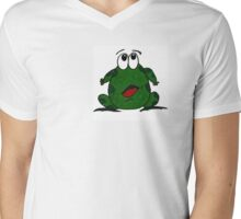 The Little Frog Mens V-Neck T-Shirt