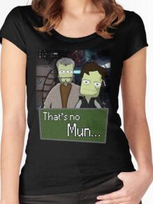 That's No Mun - KSP Women's Fitted Scoop T-Shirt