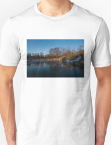 Blue Serenity - Early Morning at a Little Pond off Lake Ontario in Toronto T-Shirt