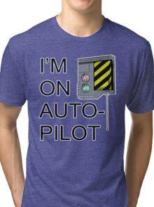 I'm On Auto-Pilot (MechJeb) - KSP Tri-blend T-Shirt