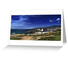 Cabo da Roca and Serra de Sintra Greeting Card