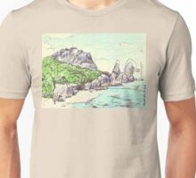 Pointe Source D'Argent Unisex T-Shirt