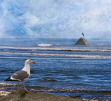 Coastal Moods Waiting For The Storm by Diane Schuster