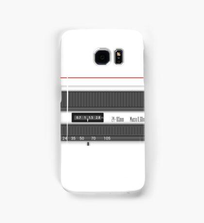 White lens Samsung Galaxy Case/Skin