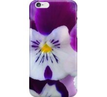 Pansy Flower iPhone Case/Skin