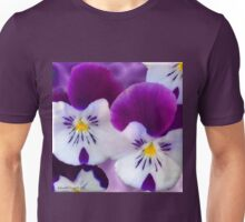Pansy Flower Unisex T-Shirt