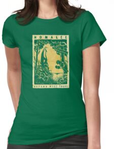 Autumn Mist Tours Womens Fitted T-Shirt