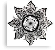 Handmade mandala Canvas Print