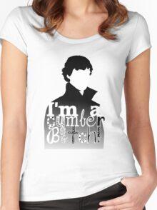 I'm A Cumberbitch Women's Fitted Scoop T-Shirt