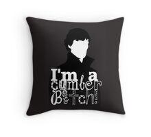 I'm A Cumberbitch Throw Pillow