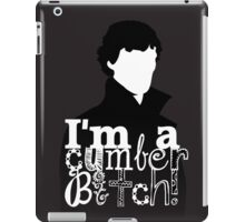 I'm A Cumberbitch iPad Case/Skin