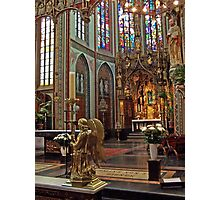 Altar of St. Francis Xavier Church - Amsterdam Photographic Print