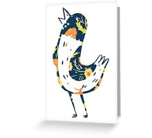 Hank Floral The Wonder Years Greeting Card