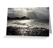 Giant's Causeway Greeting Card