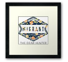 The Dear Hunter Migrant Floral Framed Print