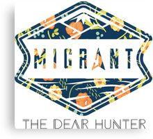 The Dear Hunter Migrant Floral Canvas Print