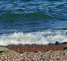 Shoreline of Lake Superior Duluth Minnesota by kodakcameragirl