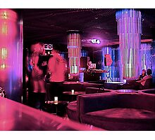 Midnight in The Purple Lounge Photographic Print