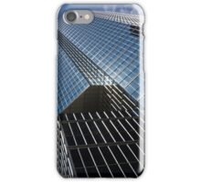 Silver Lines to the Sky - Downtown Toronto Skyscraper iPhone Case/Skin